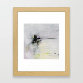 No. 08 Pastel Abstract Painting  Framed Art Print