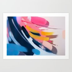 Even After All  #1 - Abstract on perspex by Jen Sievers Art Print