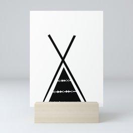 Indian tent Mini Art Print