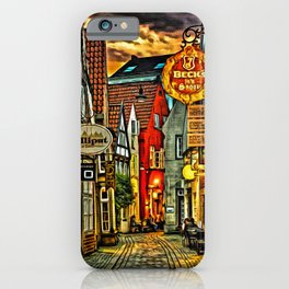 Evening in Bremen iPhone Case