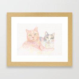 Duncan and Coleco Framed Art Print