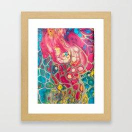 Candy Coated Hurricane Framed Art Print