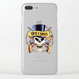 Guns N Roses logo Clear iPhone Case