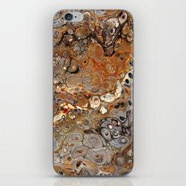 Earth Tones Lava Flow iPhone Skin