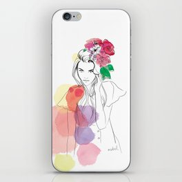 Flower Crowns iPhone Skin