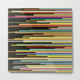 Color Shift Metal Print