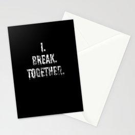 I Break Together Denglisch German Roots Stationery Cards