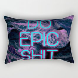Do Epic Shit Neon Version Rectangular Pillow