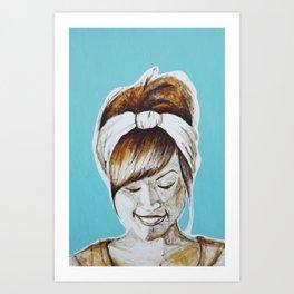 In The Studio Art Print