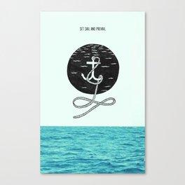 anchorage Canvas Print