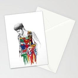 Zayn Superhero  Stationery Cards