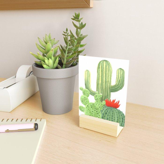 Perfect Cactus Bunch Mini Art Print