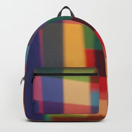 Colored blur background 5 Backpack