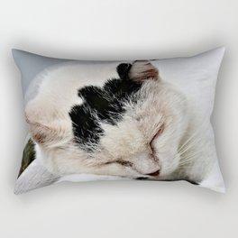 Cat Dreaming Rectangular Pillow