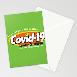 Leader Cleanser by Dennis Weber of ShreddyStudio Stationery Cards