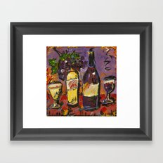 Wine Party  Framed Art Print