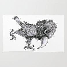 Grouchy Bird Rug