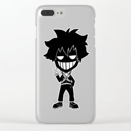 CHIBI NINJAKEES (Phone Kees) Clear iPhone Case