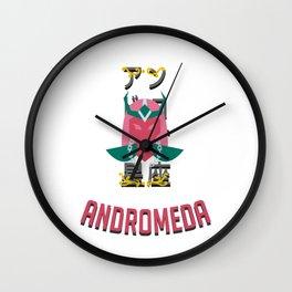The Saintof the Andromeda Wall Clock