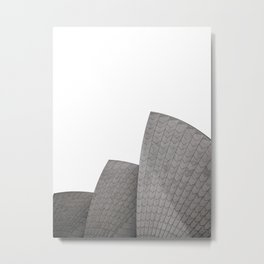 Sydney Opera House Black & White Printable Wall Art | Australia Minimalist Travel Photography Print Metal Print
