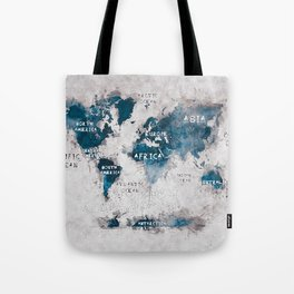 world map 13 #worldmap #map #world Tote Bag
