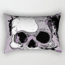 Funky Skull Rectangular Pillow