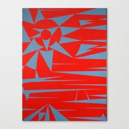 Clashing Lands Canvas Print