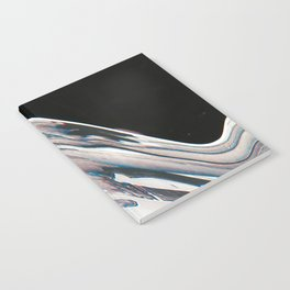 Space Time Blur Notebook