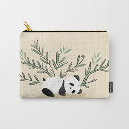 Cozy Days Sleeping Panda Carry-All Pouch