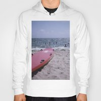 cape cod Hoodies featuring Cape Cod Beach by IanPlath