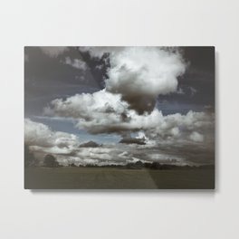 Moodiness in the clouds Metal Print