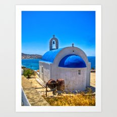 Mykonos, Greece Art Print