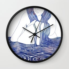 Nereid XLII Wall Clock