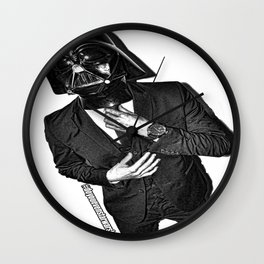 Darth Banker Wall Clock