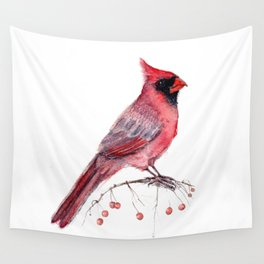 Red Cradinal Wall Tapestry