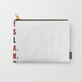 BWR No. 1 Island (White) Carry-All Pouch