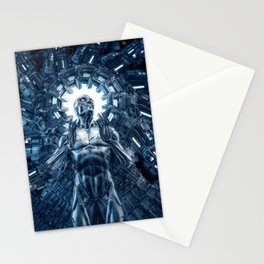 I Dream In Steel Stationery Cards