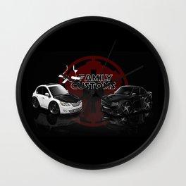 CHIBICARS - Vader & Trooper (FC) Wall Clock
