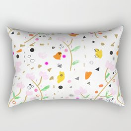 Locura Floral Rectangular Pillow