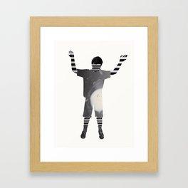 Benji Self Framed Art Print