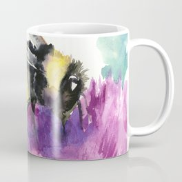 Bumblebee and Thistle Flower, Coffee Mug