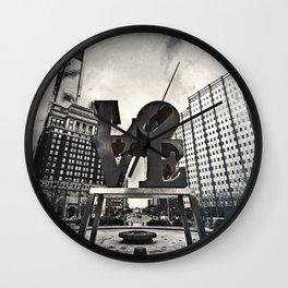 Love Park Dark Wall Clock