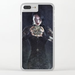 Bad Fortune Clear iPhone Case
