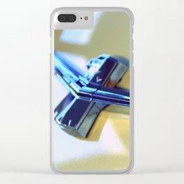 Autumn Thunderbird Clear iPhone Case