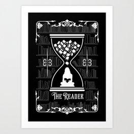 The Reader Tarot Card Art Print