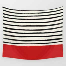 Red Chili x Stripes Wall Tapestry
