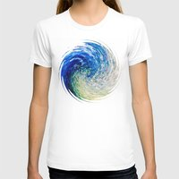 van gogh T-shirts featuring Wave to Van Gogh by Fringeman