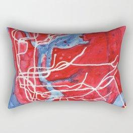 My Messy NYC Subway Map Rectangular Pillow