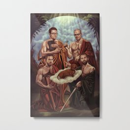 GOG vs GB2 Metal Print