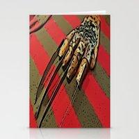 freddy krueger Stationery Cards featuring Freddy Krueger by Rachel Bradford